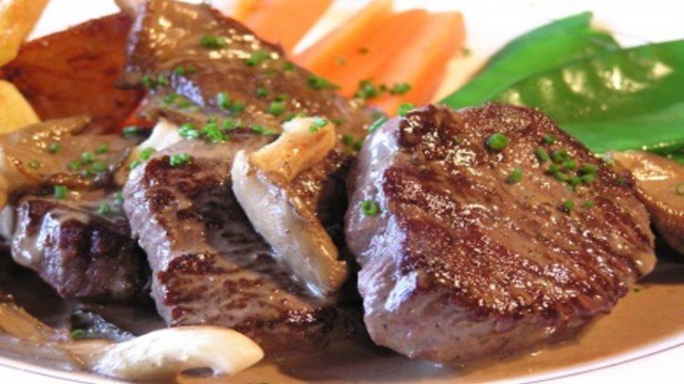 medallones de carne keto