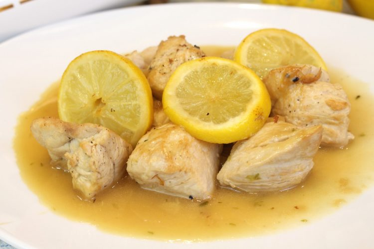 Pollo Keto al Limon