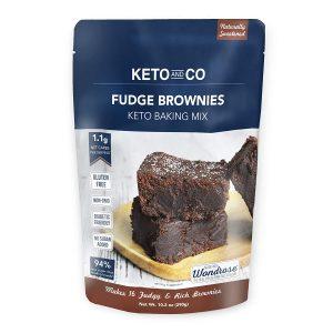 Mezcla de brownie keto