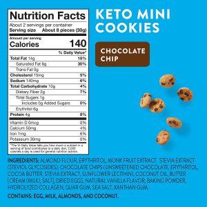 tabla nutricional galletas keto