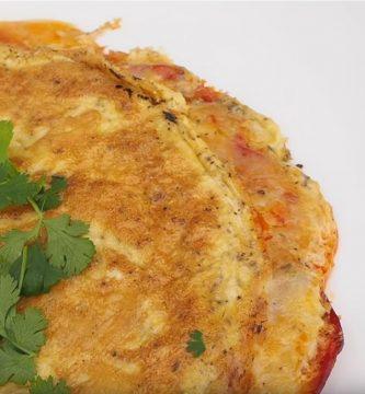 Omelette Keto de Queso