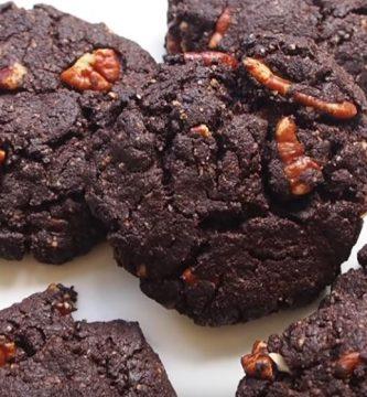 galletas brownie keto