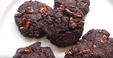galletas brownie keto