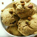 helado keto de pistacho